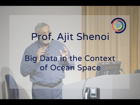Big Data in the Context of Ocean Space