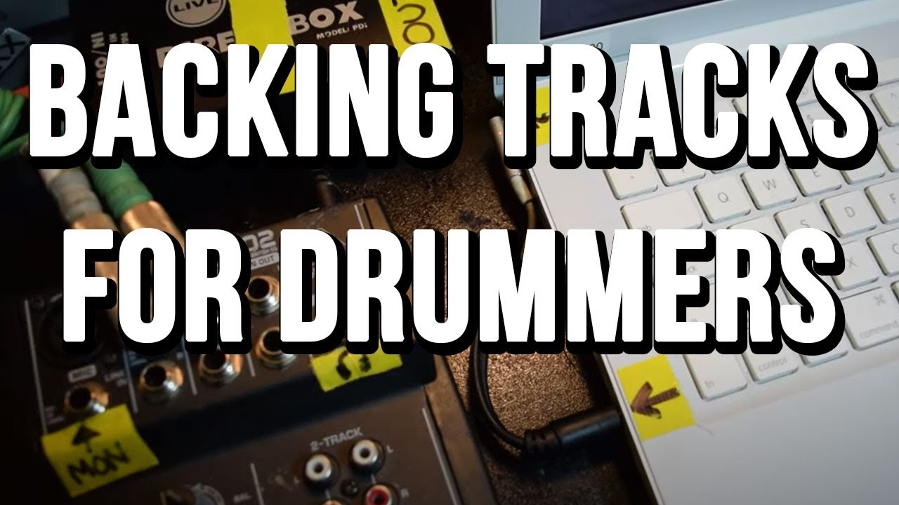 How to make a BACKING TRACK SETUP for Live Shows