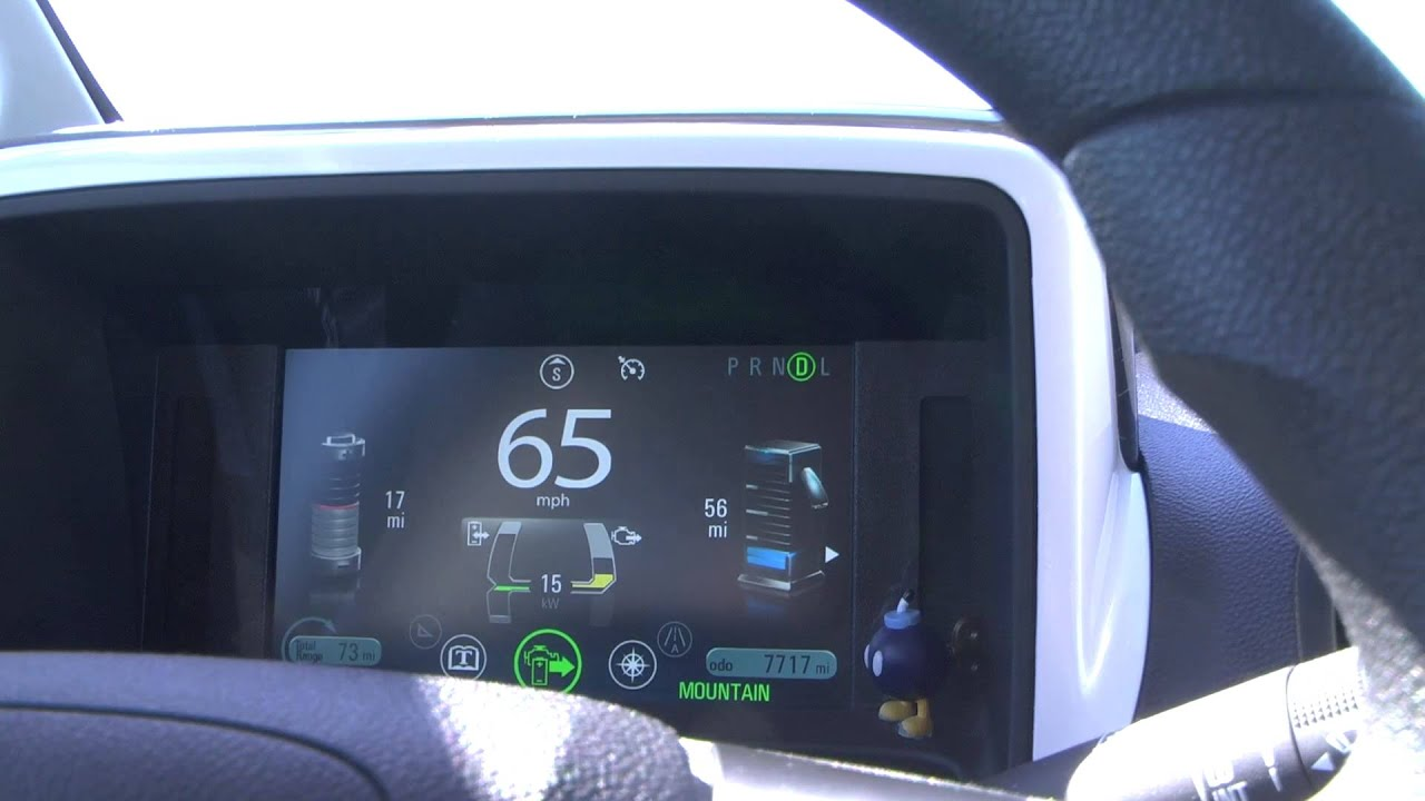 Chevrolet Volt TOP SPEED MPH REVIEW - YouTube