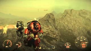 Fallout 4 AA X-01 Mk 6 peinture flame