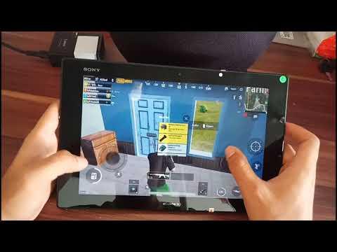 SONY XPERIA Z2 TABLET Test PUBG