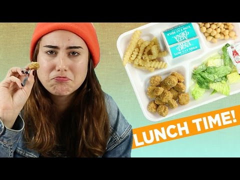 Adults Try Public School Lunches