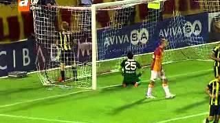 Galatasaray 1-1 Fenerbahçe Alex'ten Süper Frikik ! İlk Yarı Sonucu Süper Kupa