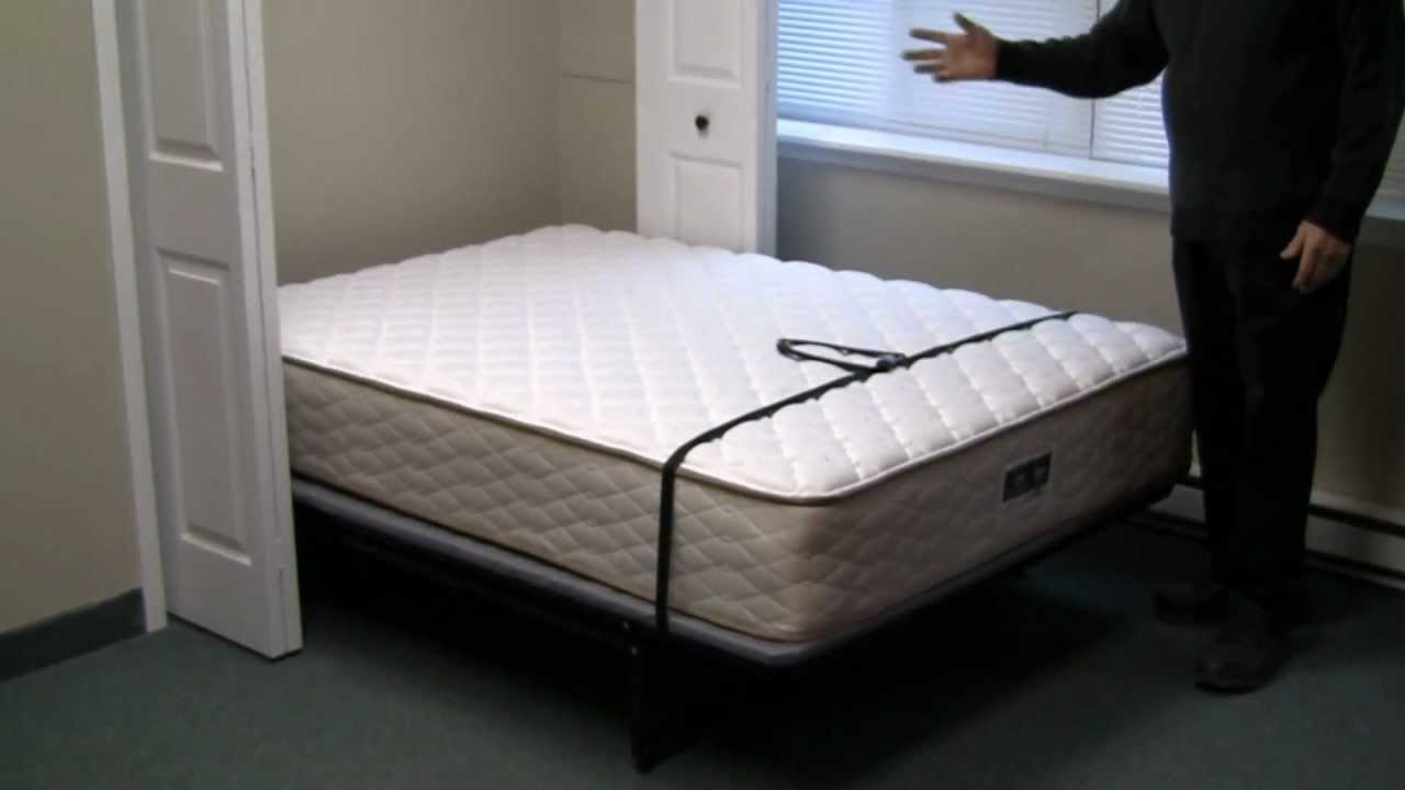 Closet Beds From Murphy Wall Beds North Youtube