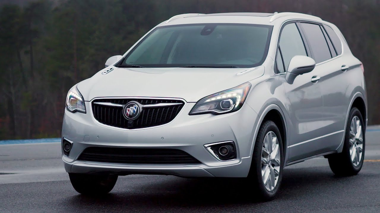 2019 Buick Envision - Driving, Interior & Exterior - YouTube