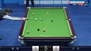 Gambar cover Yang Fan (CHN) VS Wang Yun (CHN) - WQ - 7th World Chinese Pool Masters