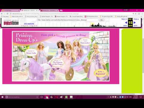Barbie Games Princess Dress Up and Makeup Game