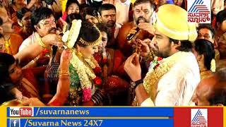 Meghana Raj And Chiranjeevi Sarja Wedding Took Place According To Hindu Traditions