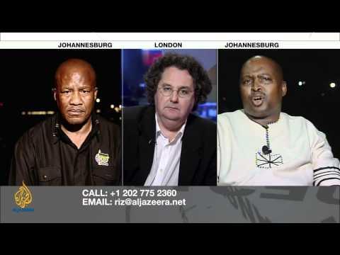 Riz Khan - South Africa's press under threat