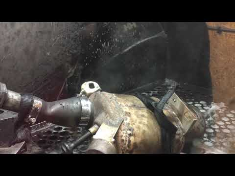 VW DPF cleaning by DPF repair and cleaning Hull