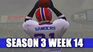 THATS NOT BOB SANDERS - ESPN NFL 2K5 BILLS FRANCHISE VS CHIEFS (S3W14)