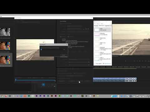 Nvenc VS Quick Sync Premiere Pro GPU encode and decode.