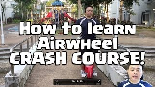 How to learn to ride an electric unicycle the quickest way