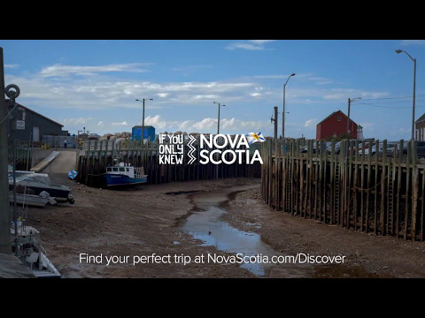 Time Lapse video of Hall's Harbour, Bay of Fundy, Nova Scotia