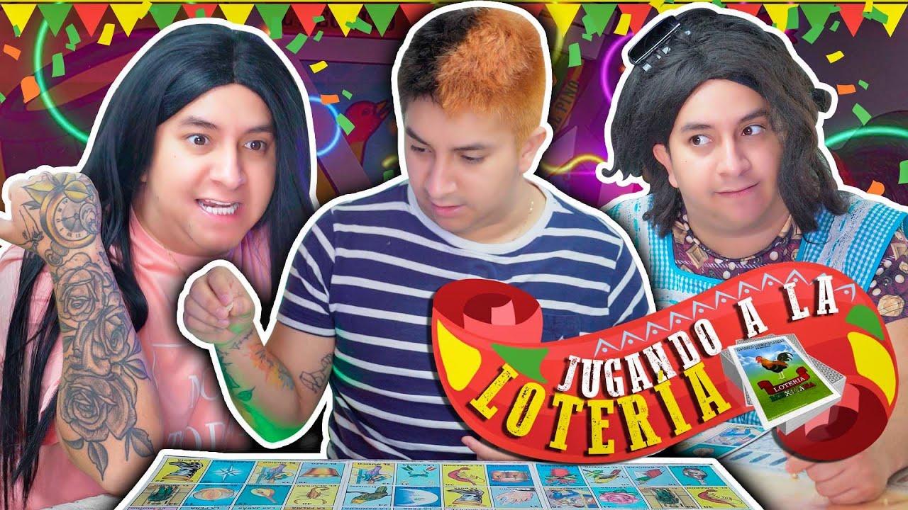 Tipos de personas jugando LOTERÍA | Mario Aguilar