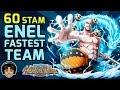 Walkthrough for Fastest Enel 60 Stamina Raid [One Piece Treasure Cruise]