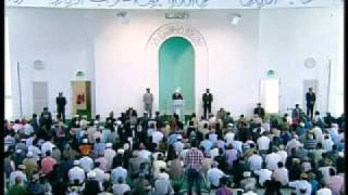 Friday Sermon: 29th May 2009 - Part 1 (Urdu)