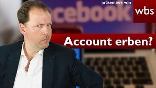 Erben meine Eltern den Facebook-Account? | Rechtsanwalt Christian Solmecke