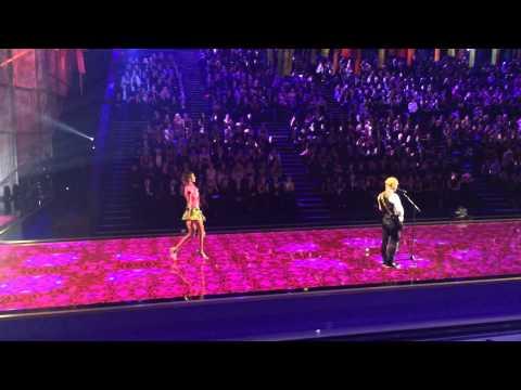Victoria's Secret Fashion Show 2014 - Fantasy Bras and Ed Sheeran