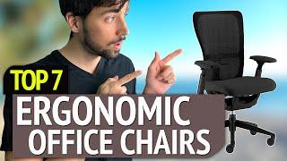 BEST ERGONOMIC OFFICE CHAIRS! (2020)