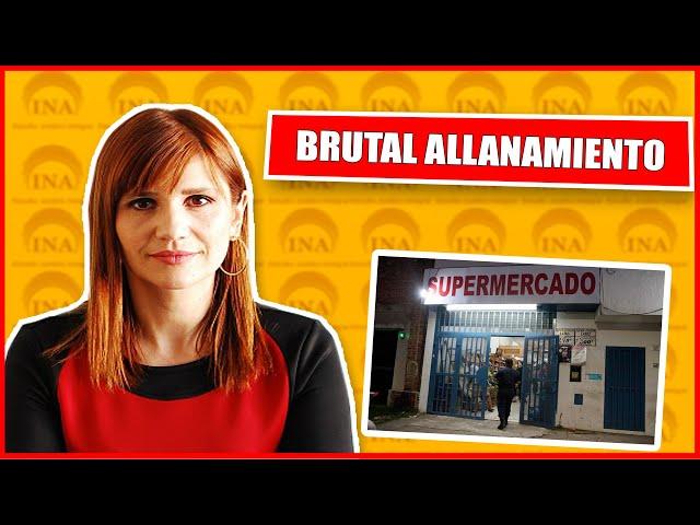 VIOLENTO ALLANAMIENTO A CIUDADANO CHINO !! DRA. DEBORAH HUCZEK