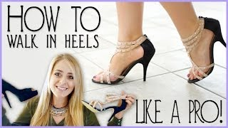 FleurDeForce Shares How To Walk In High Heels Like A Pro | Fleur's Fashion 101