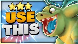 NEW TH10 Air Meta Strategy -- Queen Charge Baby Dragons | Clash of Clans