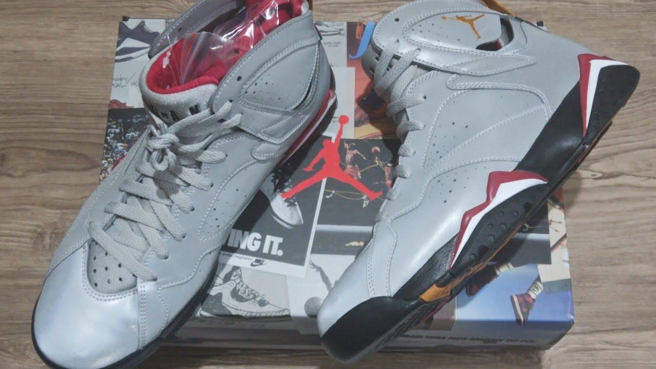 buy popular 223b0 81326 Air Jordan 7 Retro   Reflections Of A Champion   UNBOXING + CLOSER LOOK   jumpman  jordan