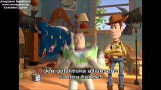 toy story 2 interview with woody and buzz swedish subtitle