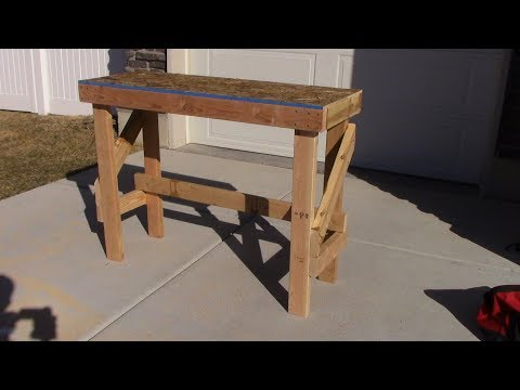 Cheapest & Easiest DIY Workbench