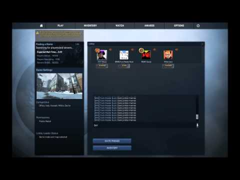 What to do while waiting in a CSGO lobby
