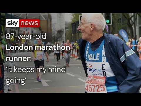 London's oldest marathon runner