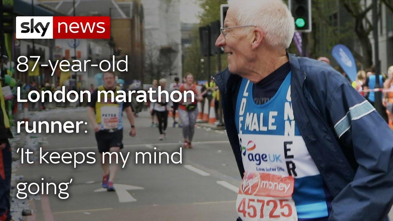London's oldest marathon runner