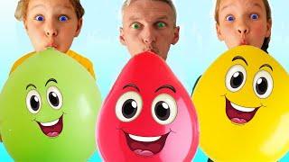 Balloon Song   Nursery Rhymes & Kids Songs by Miss Emi