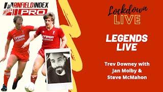 Jan Molby, Steve McMahon & Trev Downey   LFC Legends Q&A at AI Lockdown Live