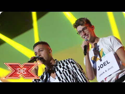 Jack & Joel get ready to bring it! | Backstage | The X Factor 2017
