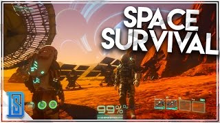 Osiris:New Dawn -Part 1 - HUGE SPACE SURVIVAL GAME/OUR JOURNEY!(Giveaway!)