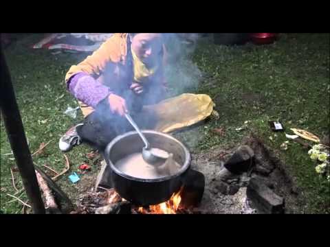 The making of Tsampa