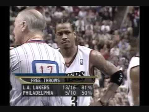 2001 NBA Finals: Lakers at Sixers, Gm 5 part 6/12