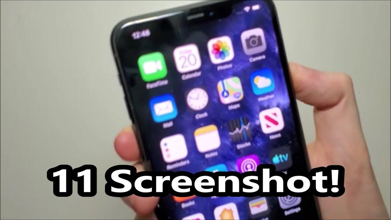 Iphone 11 11 Pro Max How To Screenshot Youtube