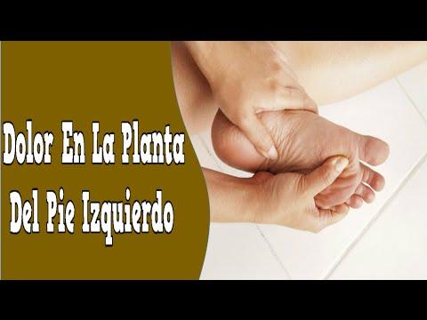 dolor en la planta del pie derecho significado