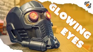 Cosplay GLOWING EYES - Star-Lord Helmet Kit Part 4