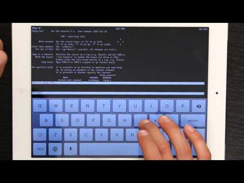 How to Use VIM to Edit a File on an iPad : Tech Yeah!