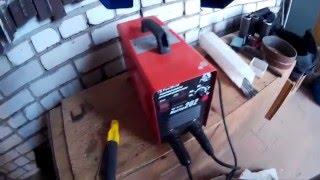 Почему на инверторе сварочный ток на всю, а электрод не горит(Что происходит с инвертором при нехватке напряжения в сети., 2016-01-27T16:45:28.000Z)