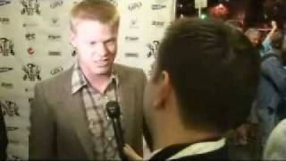 Observe and Report Actor Jesse Plemmons Red Carpet interview