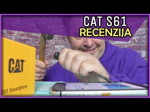 CAT S61 Recenzija - FLIR Kamera, IP68, Nevjerojatno Izdržljiv (10.05.2019)