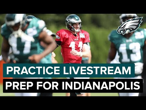 Eagles Practice Heading Into Week 3 Game vs. Indianapolis | Eagles Livestream
