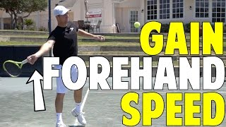 Forehand Speed + Spin Drill | 2 Finger Drill