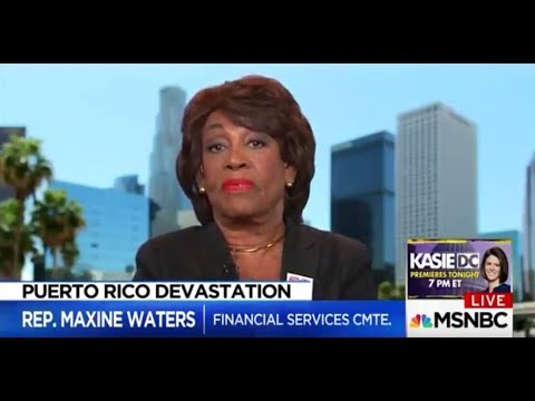 Maxine Waters: US in