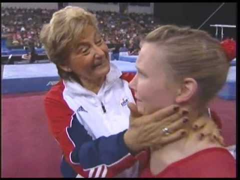 Martha Karolyi talks about Bridget Sloan